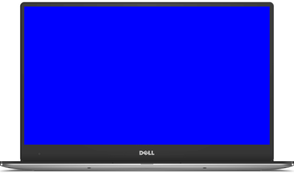 InjuredPixels for Windows - Blue Screen Device Screenshot