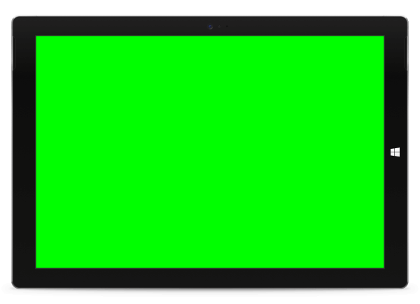 InjuredPixels for Windows - Green Screen Device Screenshot